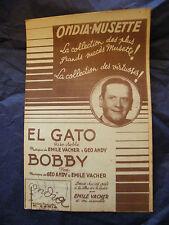 Partitur El V Gato Andy Bobby Emile V Music -blatt