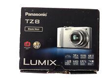 Panasonic LUMIX DMC-TZ8EB-K 12.1MP Cámara Digital-Negro