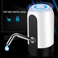 Automatic Portable USB Rechargeable Electric Water Pump Dispenser (White) Gallon