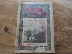 1908 Hunter Trader Trapper Magazine Winchester & Rifle Ads Fur dealers 144 pages