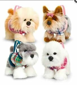 Keel New Signature soft Puppy Handbag Purse Toys