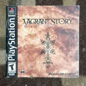 Manual ONLY Vagrant Story Playstation 1 Instruction Booklet