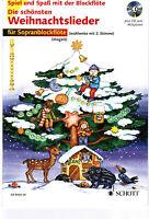 Blockflöte Noten : Die schönsten Weihnachtslieder mit CD leicht MAGOLT