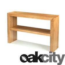 Cuba Chunky Oak Large Console Table