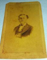 Vintage Old Print of 1870's Photo of DR. FRANCIS BESANT BISHOP North Carolina