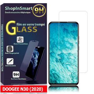 """Schutzglas Für DOOGEE N30 (2020) 6.55"""" Echtglas Display Schutzfolie"""