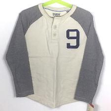 NWT OshKosh B'Gosh Boys' Long Sleeve Button Shirt White Size 5