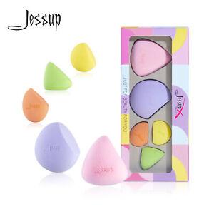Jessup Makeup Powder Sponge 5Pcs Blender Foundation Puff Flawless Soft Smooth