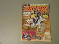 JULY 1996 DIRT BIKE MAGAZINE,80CC SHOOTOUT,HUSKY 410,ALUIMINUM CR250 FRAME,XR440