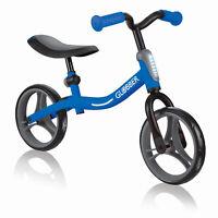 Globber GO BIKE Adjustable Balance Training Bike for Toddlers, Blue & Black
