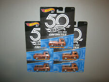 Lot Of 5 2018 Hot Wheels 50th Favorites #3 Of 10 = '60s Ford Econoline Pickup