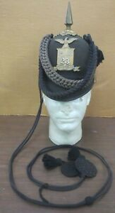 23rd New York Model 1880 Indian Wars era Sun Helmet with cords!