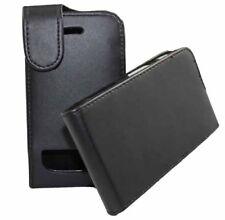 Flip Tasche für BlackBerry 9900 Bold in schwarzer Lederoptik Etui Hülle Case Bag