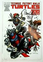 Teenage Mutant Ninja Turtles #11 SDCC Variant IDW Comic Book Signed by Tom Waltz
