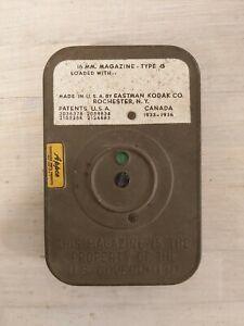 kodak US government equipment military 16mm magazine tipe g cine film 1930's