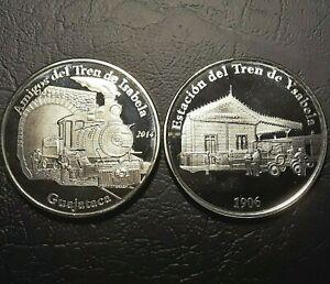 2014 Medalla MUSEO DEL TREN Estacion ISABELA y TUNEL GUAJATACA Puerto Rico Train