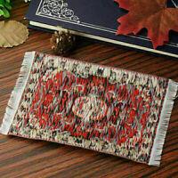1/12 Mini Dollhouse Carpet Furniture Doll House-thread Rug Decor 10 cm * 15 V5J1