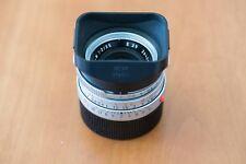 Leica Summicron-M 35 mmF/2.0 E39 Objektiv (silber)