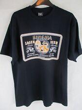 Para Hombre mejor experiencia Singha León de Asia tailandés Cerveza Lager De Algodón Camiseta Talla L