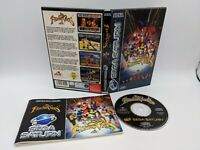 FIGHTING VIPERS Sega Saturn Game 1996 UK PAL WITH MANUAL - Free P&P