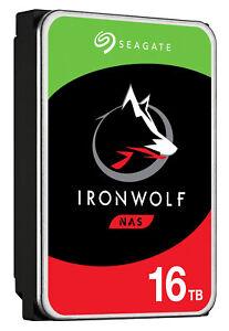 "16TB Seagate IronWolf 3.5"" 7200RPM SATAIII 6Gbps 256MB Cache Internal Hard Drive"
