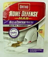 Ortho Home Defense Max Kill & Contain Rodent Mouse Trap Twin Pack New