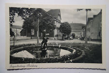 Postal DHJ albergue de juventud Berleburg 1953