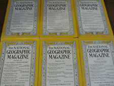 NATIONAL GEOGRAPHIC-COMPLETE YEAR-1952+ALL MAPS US SUBS-AMAZON-DESERT GIANT-VG++