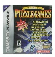 Nintendo GameBoy Advance Spiel - Ultimate Puzzle Games Modul