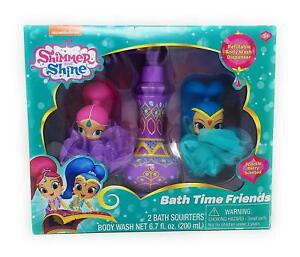 Nickelodeon Shimmer & Shine  Bath Time Friends Sparkle Berry Body Wash Gift Set