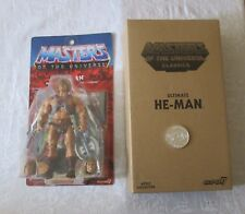 Super7 MOTU Masters of the Universe Classics He-Man with Coin Action Figure