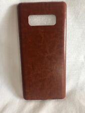 Samsung Galaxy Note 8 Sleek Leather Case Brown