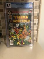 Marvel Two-In-One #29, NM 9.4 CGC, 2nd Appearance Spider-Woman; Shang-Chi