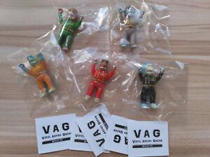 MEDICOM VAG Series 17 Neo Gorilla llu llu VINYL ARTIST GACHA Full set of 5 pcs