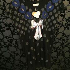 Angel Eye Pac Man Bow Vintage Gaming Sweatshirt Jumper, Size 12 14 16