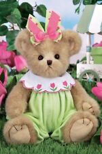 "14"" BEA BLOOMING*Bearington Bear*NEW*NWT*Spring*TULIPS*Garden*EASTER*143288"