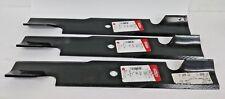 """Qty-3 16-1/4"""" Oregon 91-313 Lawn Mower Blades for 48"""" Deck Exmark 103-6583, 9487"""