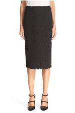 NWT RED Valentino Macramé Lace Pencil Skirt Size 40 $795