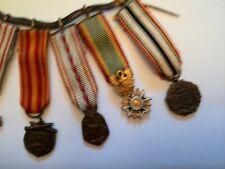 médailles miniatures recherchées