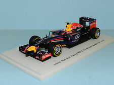 Spark Models 1/43 Red Bull Racing RB10 Daniel Ricciardo Winner Canada GP 2014 MB