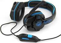 SADES 708 3.5mm Computer Headset Gaming with microphone headphone for PC laptop