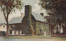 Antique POSTCARD c1907-15 The Old Stone House GUILFORD, CT 16433