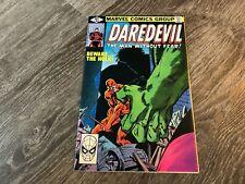 Daredevil #163 HULK HIGH GRADE NM  Frank Miller artwork 1980 Marvel See Pics
