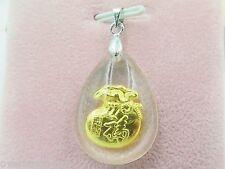 NEW 999 Gold Bless Lovely The Money Bag Man-made Crystal Pendant