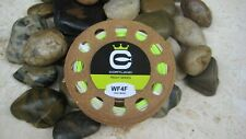 Cortland Trout Boss Fly Line, WF-4-F, Chartreuse/White, NIB!
