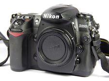 Nikon d200 10.2 megapíxeles SLR-cámara digital-negro (sólo carcasa)