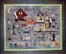 PRAISEWORTHY STITCHES Cross Stitch Pattern Chart BUMP N D'KNIGHT FARM