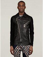 Vivienne Westwood Man Sweat Sleeve Biker Leather Jacket Blazer size 52 (L)