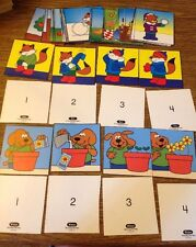 Set Of 52 Put In Order Picture Cards 1-4 Spring, Summer, Winter, Fall, Anytime