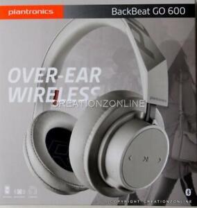 Plantronics Backbeat Go 600 Bluetooth Over-Ear Wireless Headphones